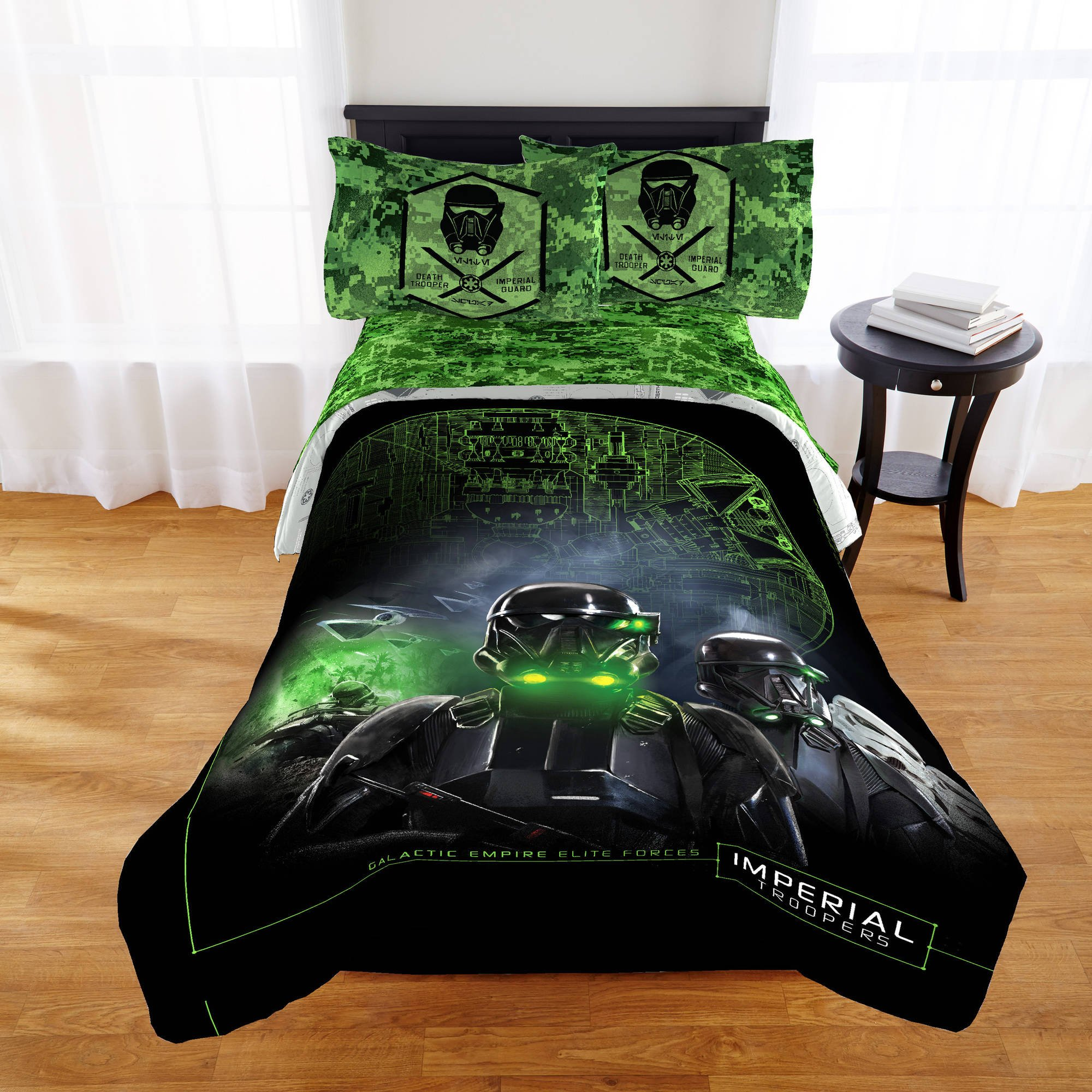 Jay Franco Star Wars Rogue One Comforter, Death Troop by Jay Franco