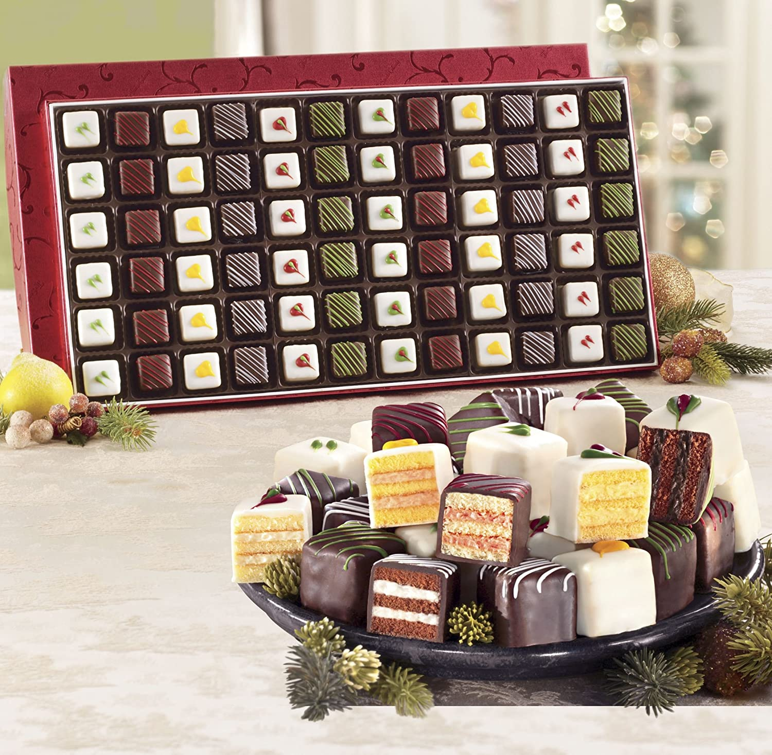 Piece Petits Fours From The Swiss Colony Amazoncom Grocery - Figis com invoice
