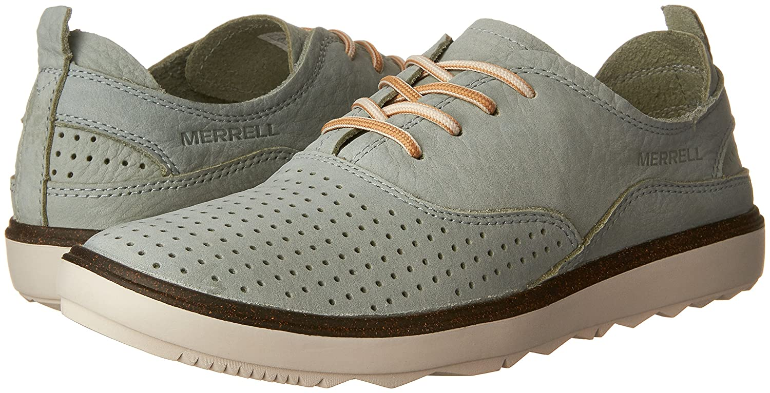 Merrell Women's Around Town Lace Air Fashion Sneaker Surf B01HHI9NGE 7 B(M) US|Blue Surf Sneaker d0bb2d