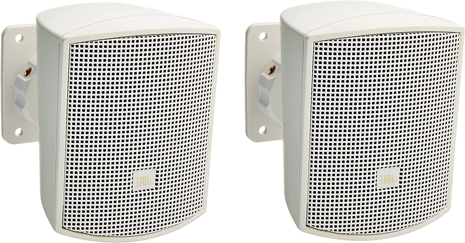 Amazon: JBL Professional Control 52-WH Surface-Mount Satellite Speaker for Subwoofer-Satellite Loudspeaker System, White, Sold as Pair @ .05 + Free Shipping