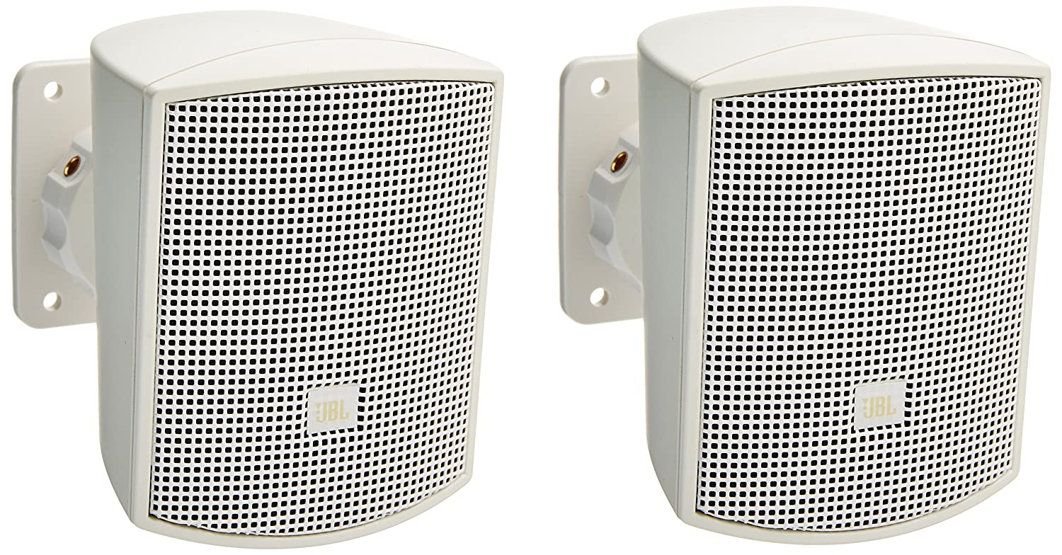 JBL CONTROL 52 Surface-Mount Satellite Speaker for Subwoofer-Satellite Loudspeaker System, Black (sold as pair)