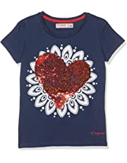 79e1bfa2d Desigual Girl Knit T-Shirt Short Sleeve (TS Dover)