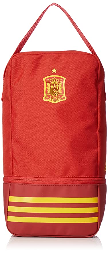 best sneakers e99e6 26ed6 Image Unavailable. Image not available for. Color  adidas 2018-2019 Spain  Shoe Bag (Red)