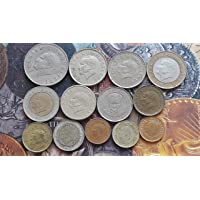 13 All Different Coins Set - Turkey - Circulated Condition - Foreign Coin