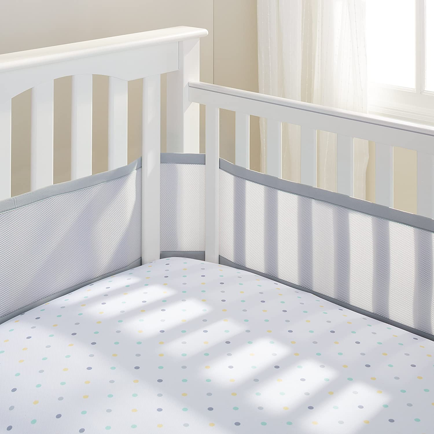 safe solpool company and bumper white full vertical crib girl cribs bar cot grey baby dangerous pattern safety networks navy padding size bedding have list must pink orange liner set the black side breathable bumpers pads percale quilt of plain gray