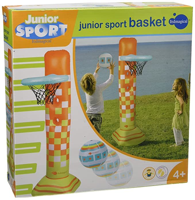 itsImagical - Junior Sport Basket, Canasta de Baloncesto Hinchable (Imaginarium 79989)