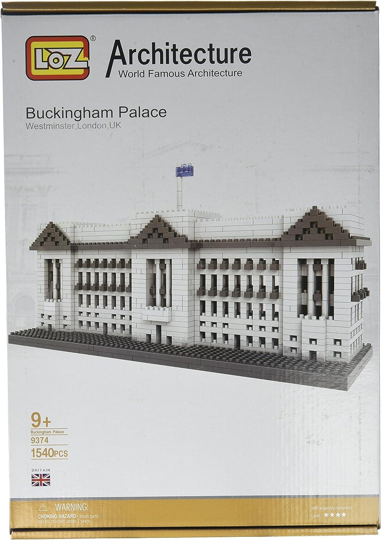 LOZ Mini Architecture Blocks Buckingham Palace Model London UK