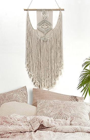 Handmade Macrame Wall Hanging  Woven Wall Art  Macrame Tapestry   Boho Wall  Decor