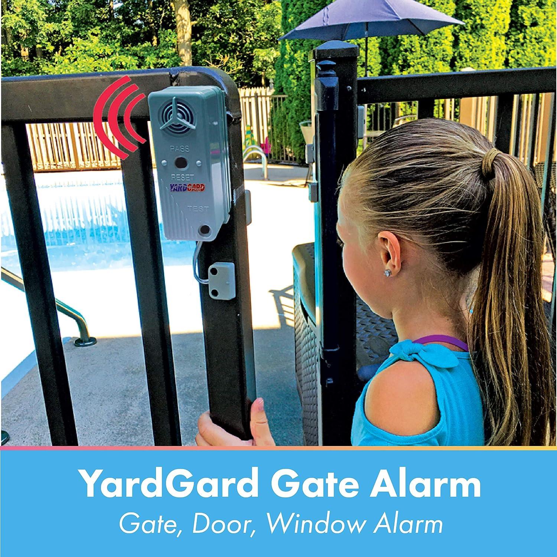 Yardgard gate and window alarming kit