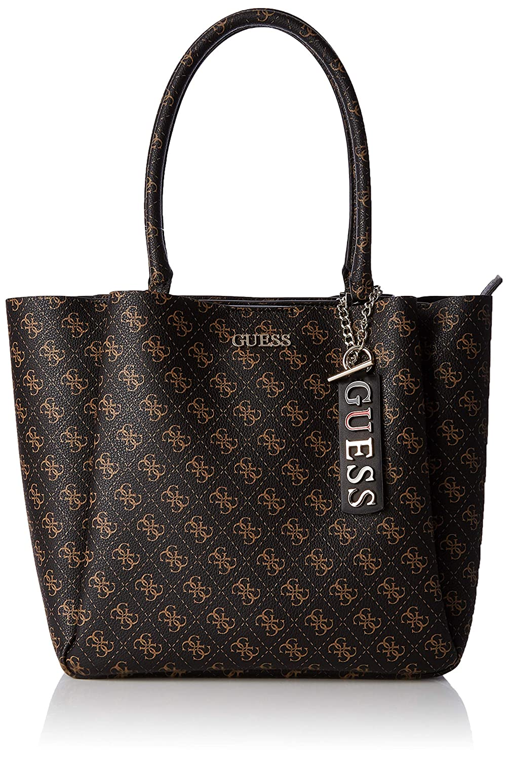 Guess - Maci Carryall, Mujer, Blanco (Brown), 40x30x15 cm (W ...
