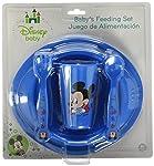 Disney Baby Set de Alimentación Mickey, 5 Piezas, color Azul