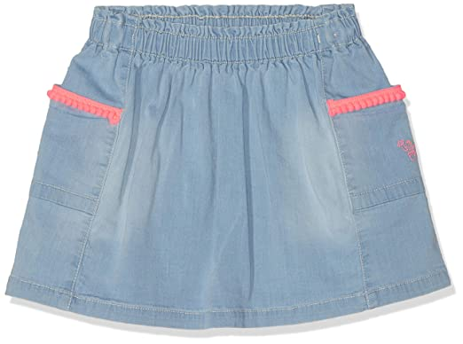 s.Oliver 53.904.79.5998 Falda, Azul (Blue Denim Stretch 53z2), 116 ...