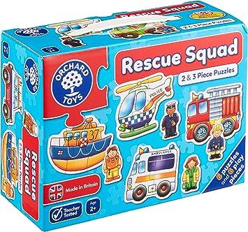 Orchard_Toys - Puzzle Infantil, diseño de Coches: Amazon.es: Juguetes y juegos