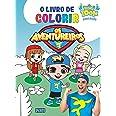 Livro de colorir Os Aventureiros