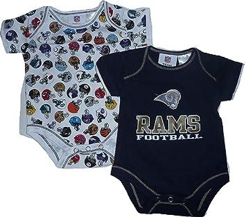 best sneakers 067f0 8b588 Amazon.com: LA Los Angeles Rams 0-3 Month Infant Baby 2pc ...