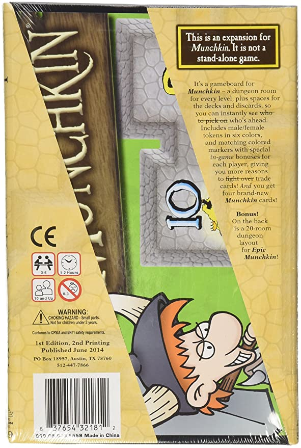 Amazon.com: Munchkin Level Playing Field Card Game: Toys & Games