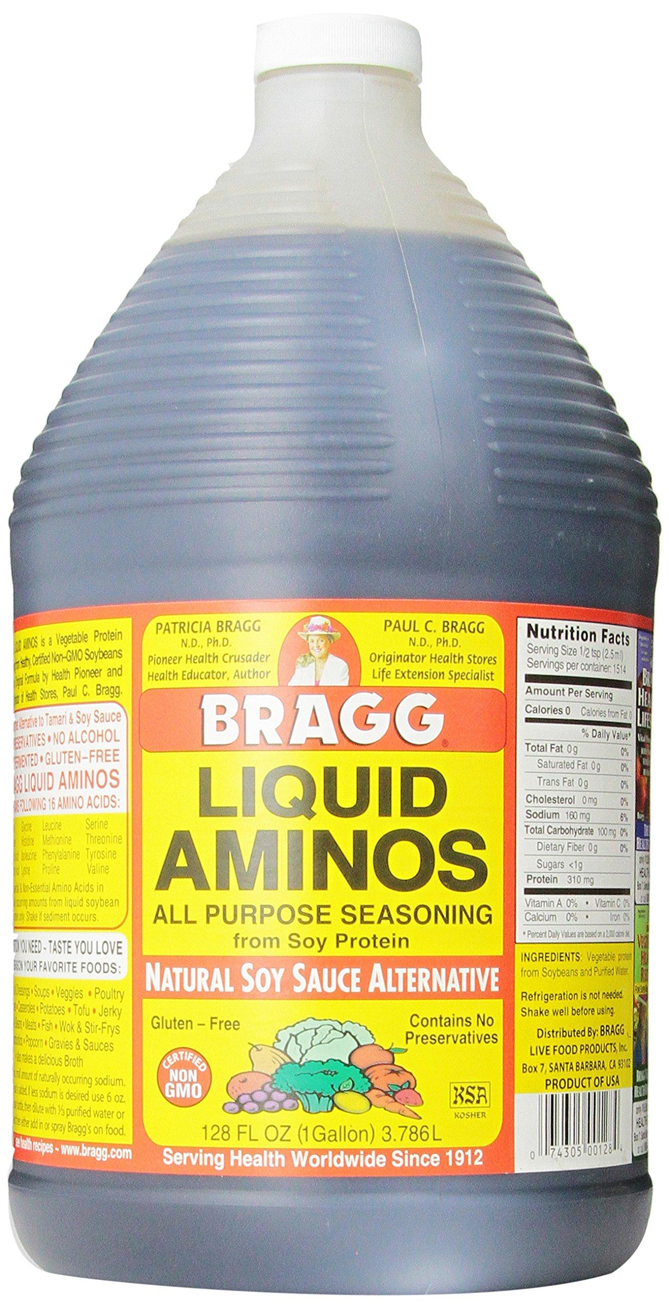 Bragg Amino Protein Concentrate, Liquid, 128 Ounce