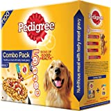 Pedigree Adult Combo Pack, 480 g(Get back Full Value as Amazon Pay Balance on next Purchase of Pedigree Products)