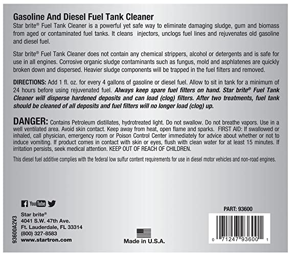 Amazon.com: Star Brite startron Tank Cleaner (64-ounce ...