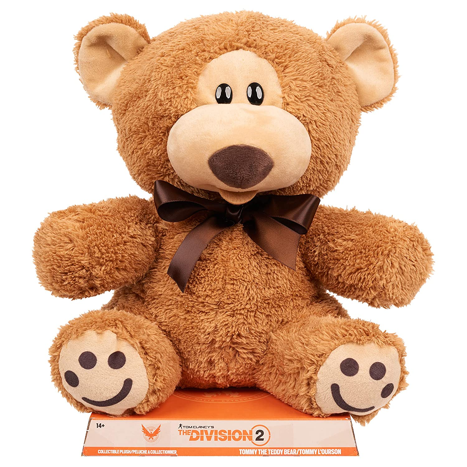 Amazon.com: Ubisoft The Division 2 Large Teddy Bear: Toys ...