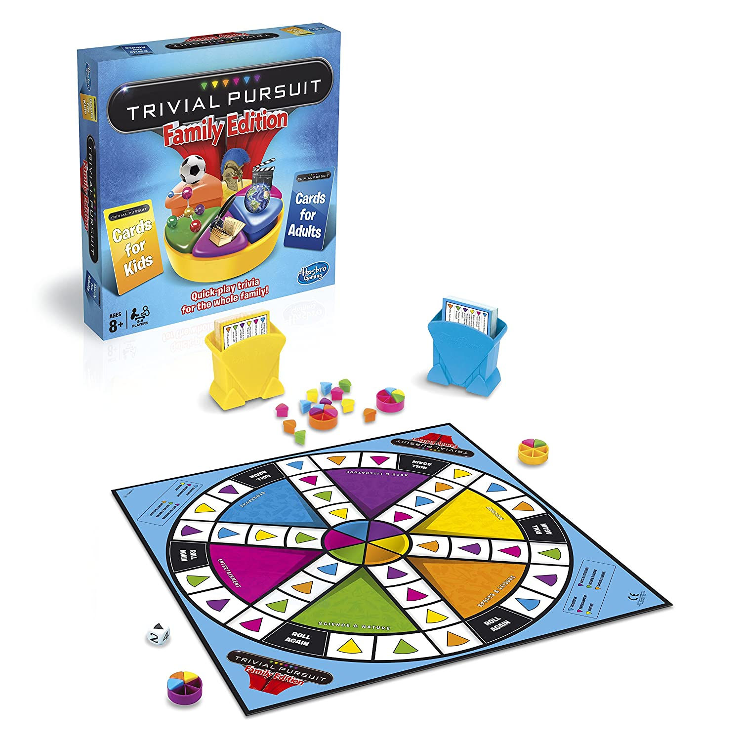 Trivial Pursuit Family Edition Board Game by Hasbro Amazon