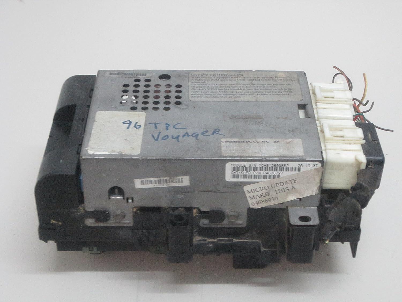 [QNCB_7524]  Amazon.com: 96 97 98 99 00 DODGE CARAVAN TOWN&COUNTRY VOYAGER UNDER DASH FUSE  BOX P4686727: Car Electronics   98 Caravan Fuse Box      Amazon.com