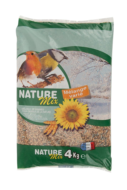 Agrobiothers Nourriture Nature Mix 4 Kg pour Oiseaux et Animaux Sauvages 3281011002376