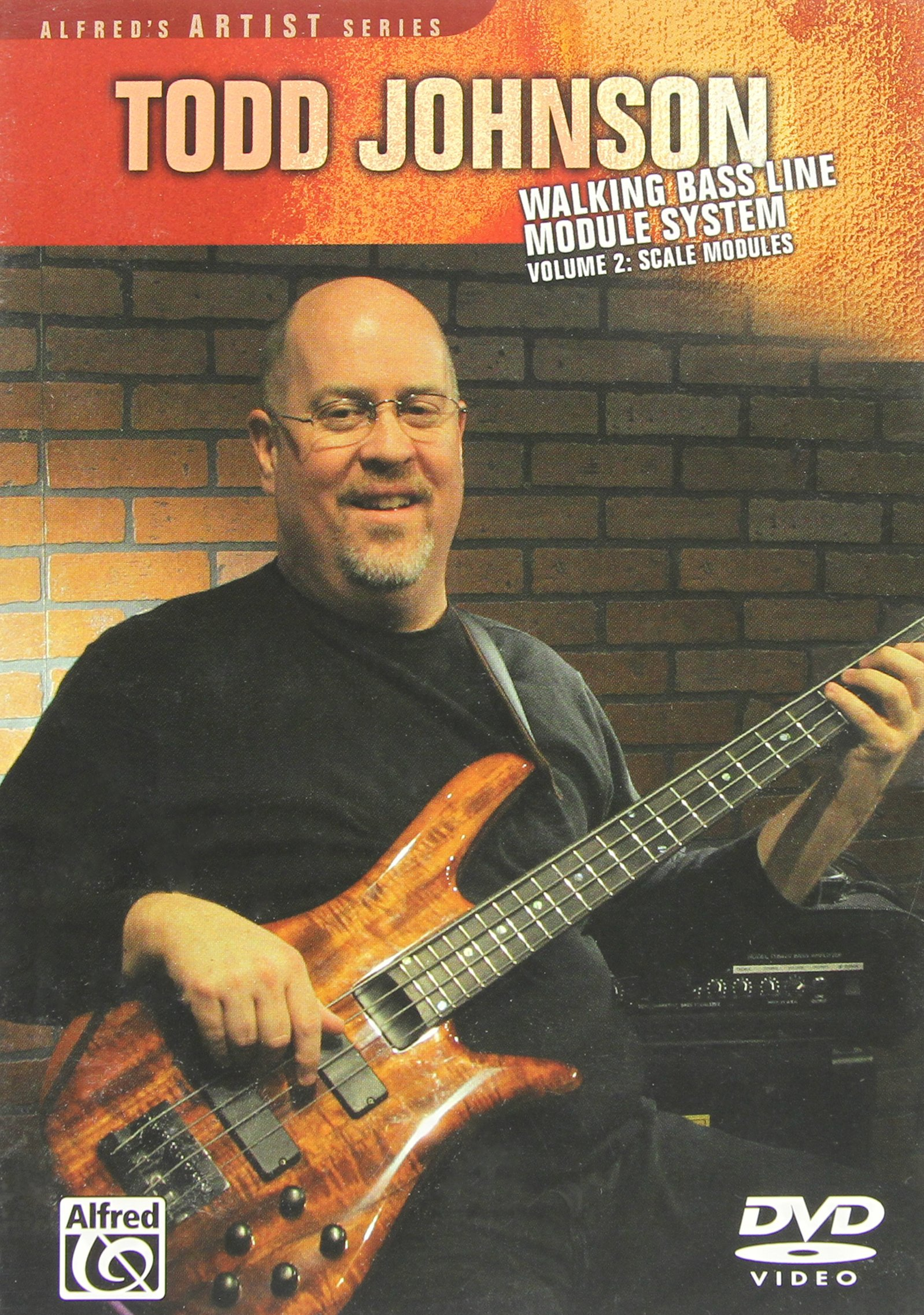 DVD : Todd Johnson - Walking Bass Line Module System: Volume 2: Scale Modules (DVD)