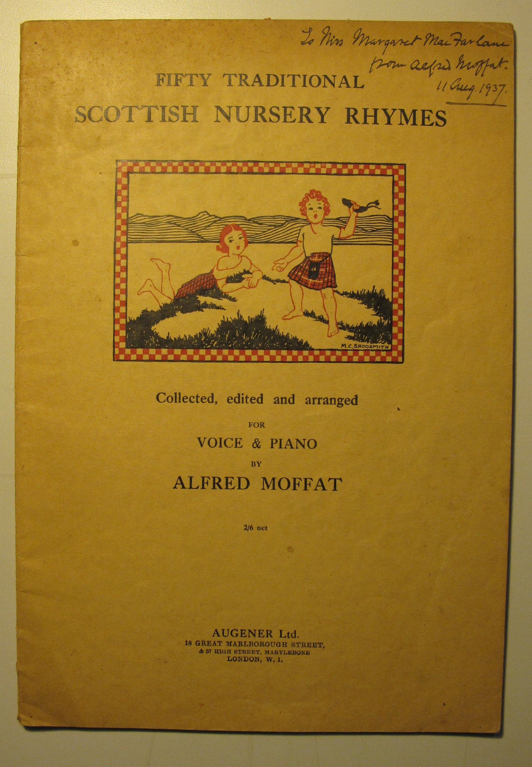 Fifty Traditional Scottish Nursery Rhymes. Being a Collection of ...