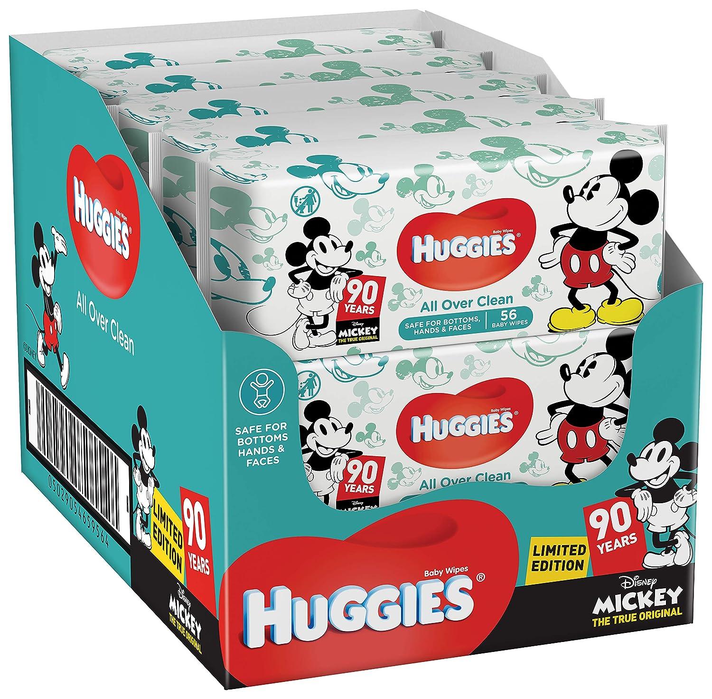 Huggies Soft Touch Baby Pflegetü cher, 10er (10 x 56 Tü cher) 24361