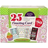 Paper Magic All Occasion Handmade Greeting Card Assortment in Keepsake Organizer Box, 25 Cards (2333225)