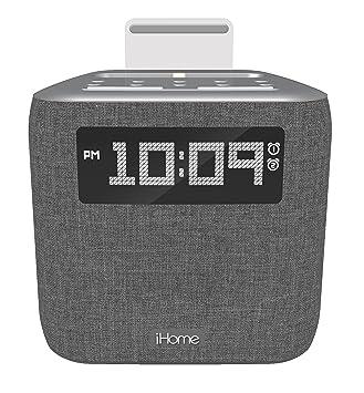 amazon com ihome ipl8xhg dual alarm fm clock radio with lightning rh amazon com