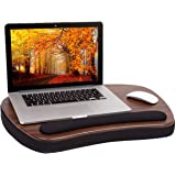 Sofia + Sam Oversized Memory Foam Lap Desk with Wrist Rest - Great for Laptops -Portable Home Working Office Workstation…