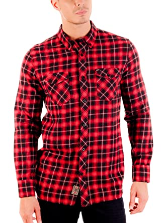 Lois Camisa Hombre Kris Kros Rojo L: Amazon.es: Ropa y accesorios