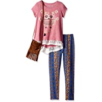 Freestyle Revolution Big Girls' 3pc Top/Legging/Purse Set