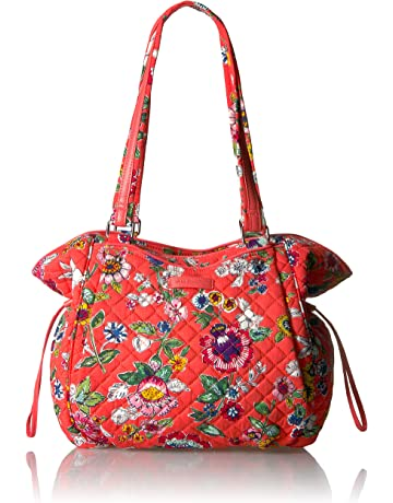 708011251 Vera Bradley Iconic Glenna Satchel, Signature Cotton
