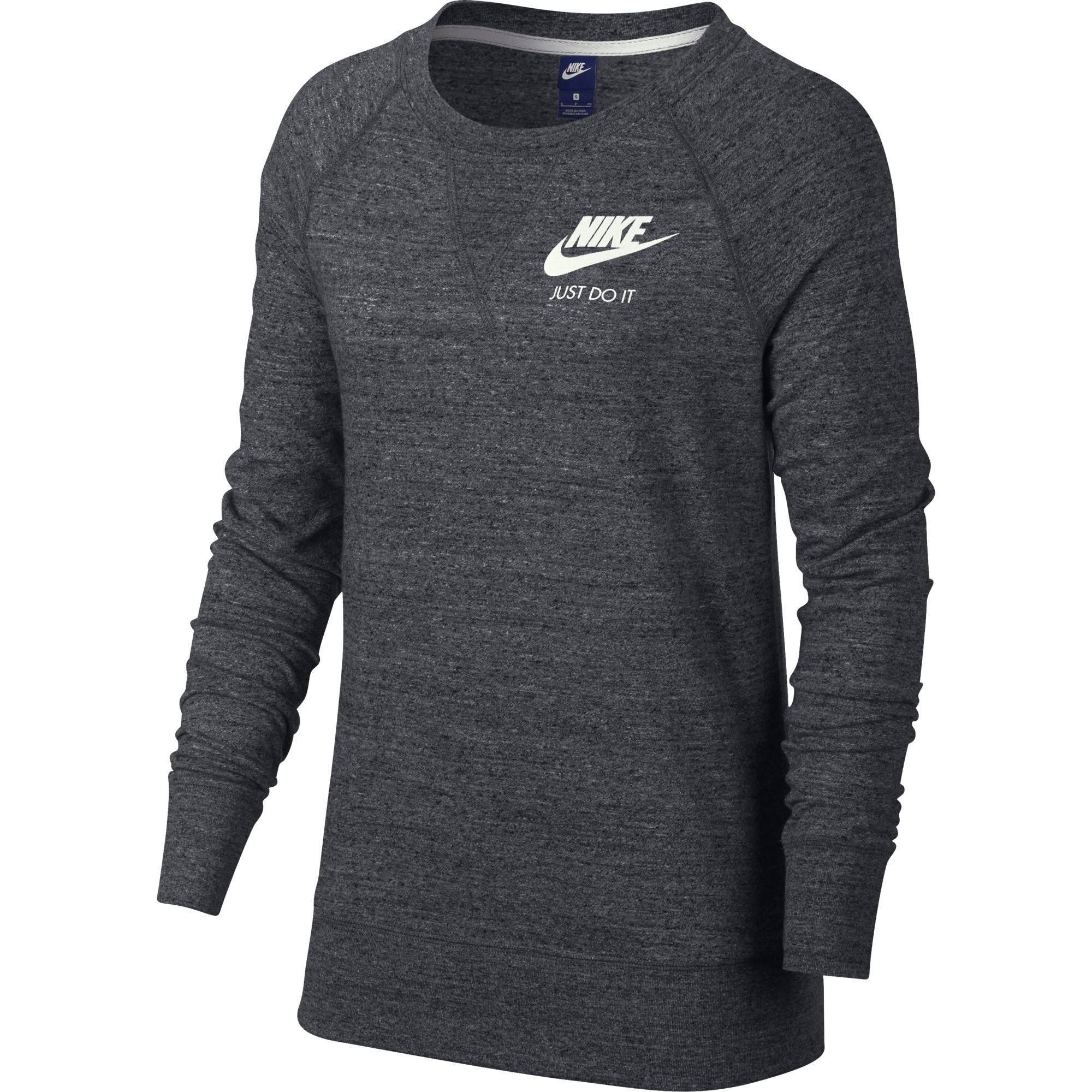 Nike Sportswear Gym Vintage Crew Carbon Heather/Sail Women's Clothing