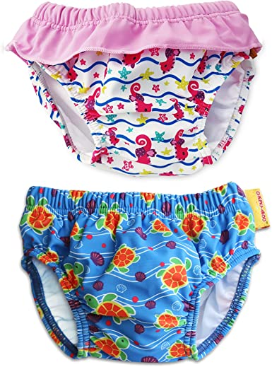 Cheekaaboo Adjustable and Reusable Swim Pants for Baby and Toddler 0-30 Months