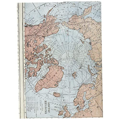 アーティミス ファイバーフリーサイズブックカバー ワールドマップ