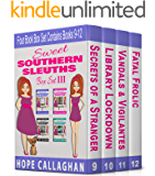Sweet Southern Sleuths Cozy Mysteries: Box Set III: (Books 9-12) (Sweet Southern Sleuths Boxed Set Book 3)