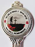 First World War 1 100 Years Celebration Collectors Silver Plated Spoon in Presentation Box