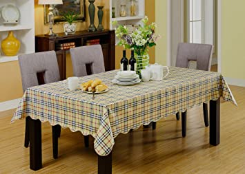 Attirant 60u0026quot; X 60u0026quot; Square PVC Tablecloth Table Cover For Dinner Picnic  Table Decoration