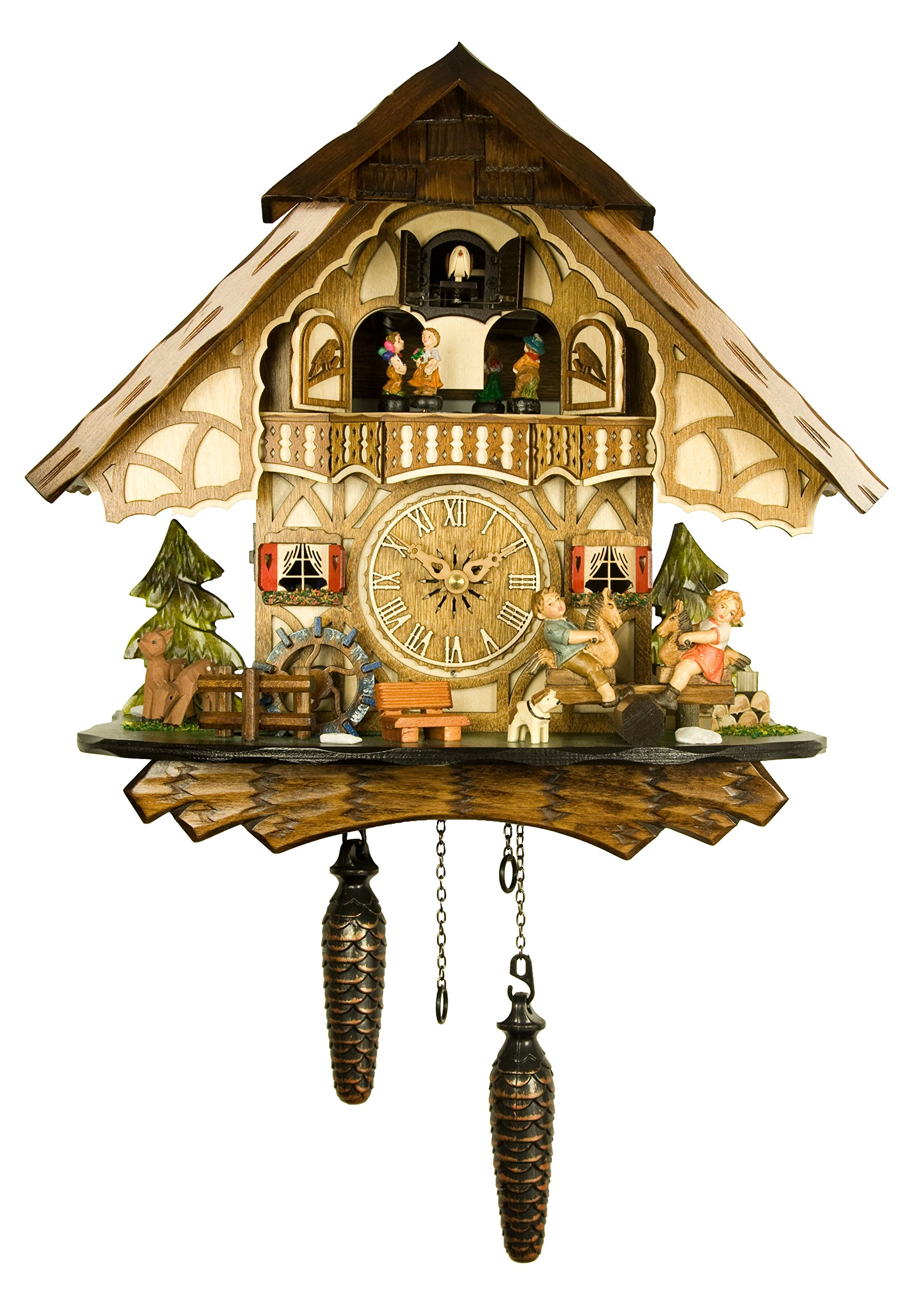 Engstler Quartz Cuckoo Clock - The Merry Children