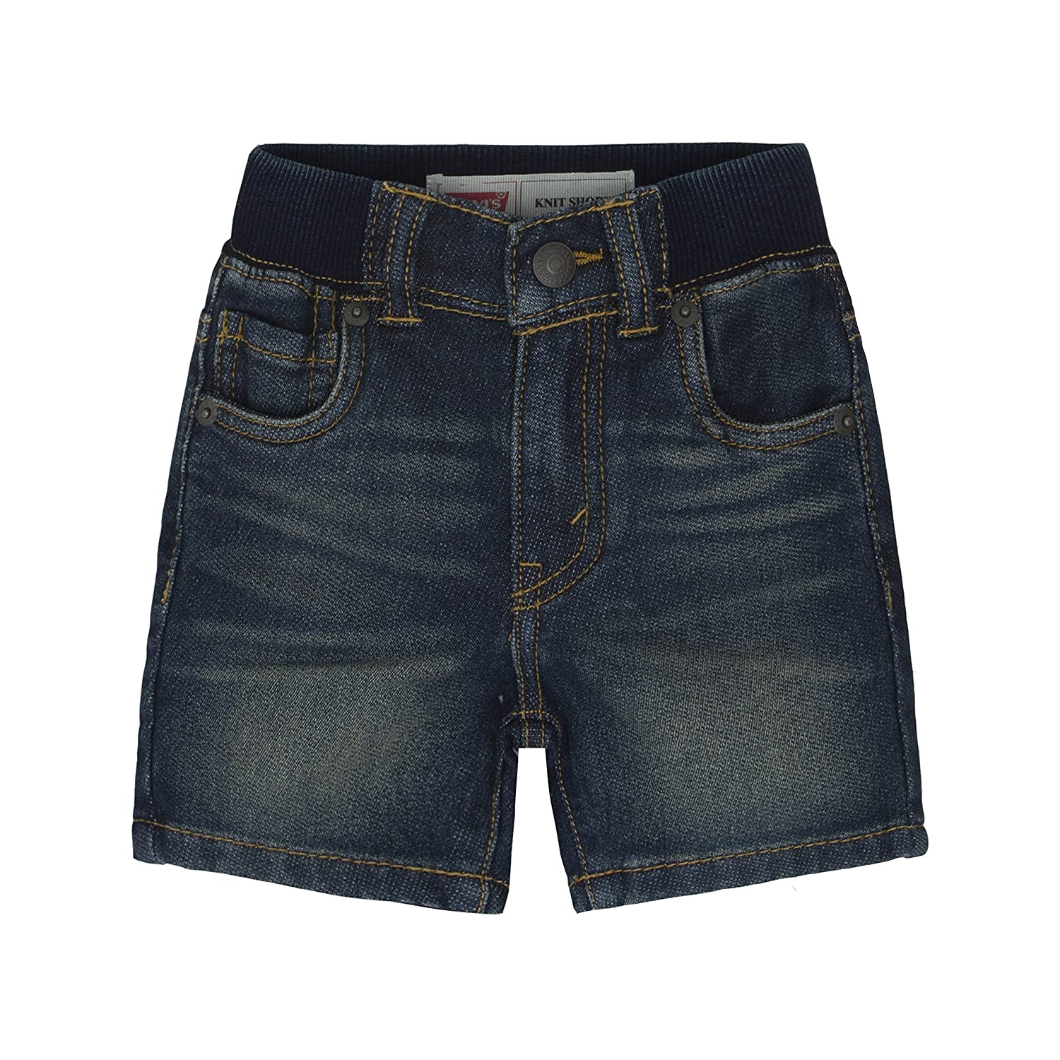 LAPLBEKE Baby Boys Jeans Shorts Toddlers Ripped Jeans Pull up Pants