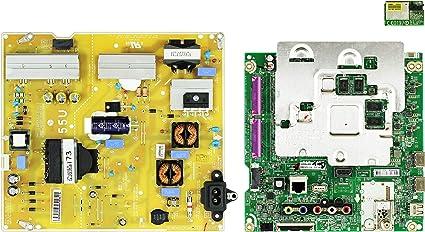 LG 55UJ6300-UA.BUSTLOR Complete LED TV Repair Parts Kit