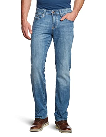 bac562e49c5e camel active Herren Jeans Normaler Bund 488235/5991: Amazon.de ...