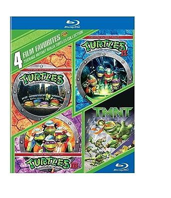 4 Film Favorites: Teenage Mutant Ninja Turtles Collection [Blu Ray]