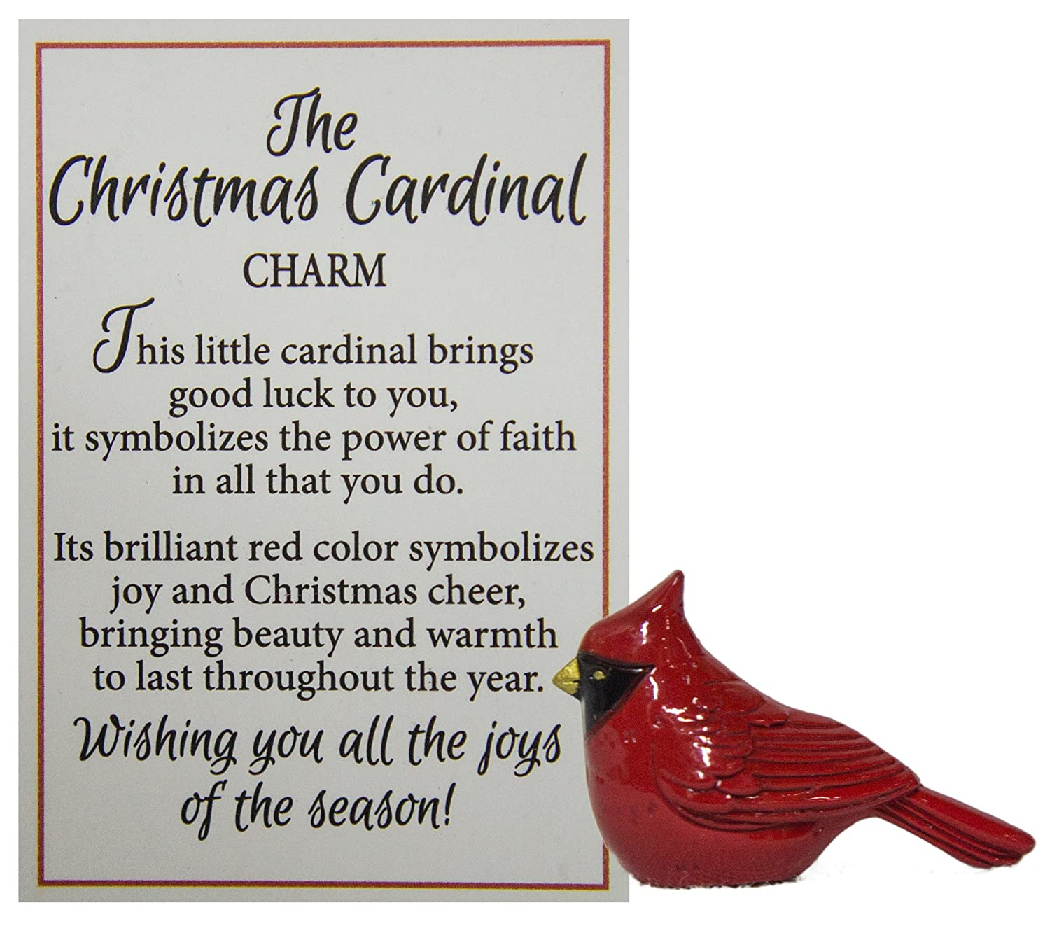 Amazon The Christmas Cardinal Charms Arts Crafts Sewing