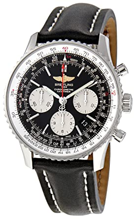 002a0ce88 Image Unavailable. Image not available for. Color: Breitling Men's  AB012012-BB01 Navitimer Chronograph ...