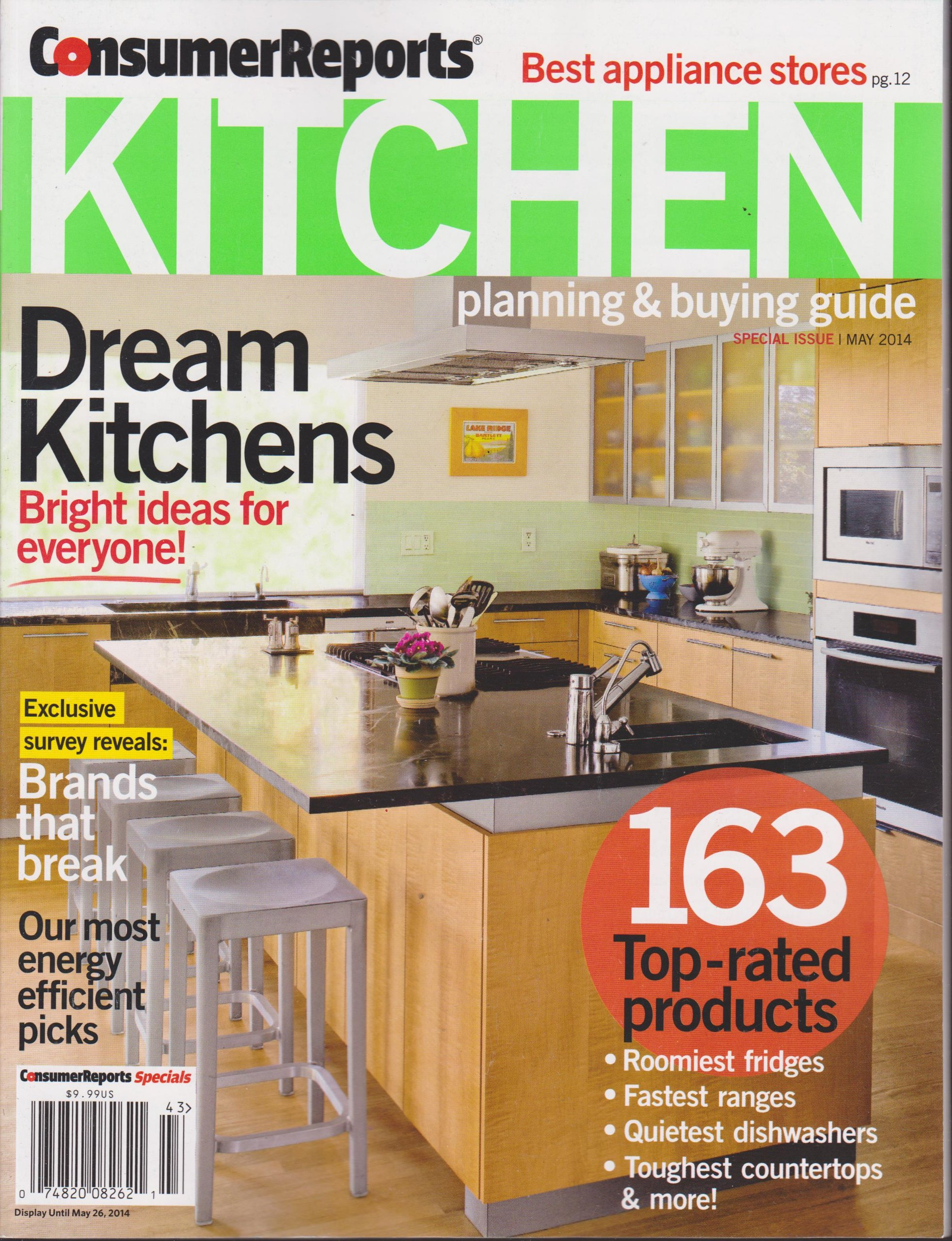 consumer reports kitchen planning ing guide magazine may 2014